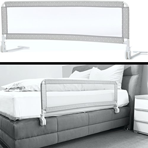 Kinder Bettschutzgitter EXTRA HOCH optimal für Boxspringbett/Bett Standard -