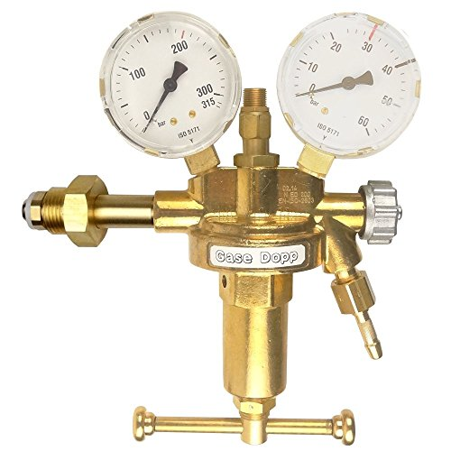 Druckminderer Druckluft 200bar Pressluft für Druckluftflasche Pressluftflasche 0-30 bar von Gase Dopp