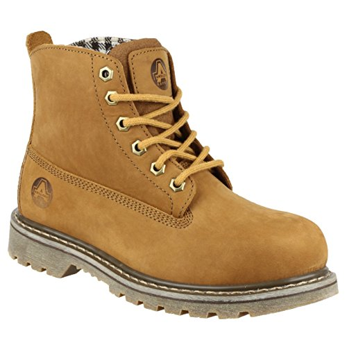 Amblers Safety Mens FS103 Leather Safety Boots Brown Marron