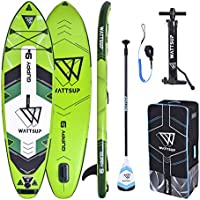 Hinchable Stand Up Paddle Caer Stitch un Lage Wattsup Guppy 9' - 275x76x12cm