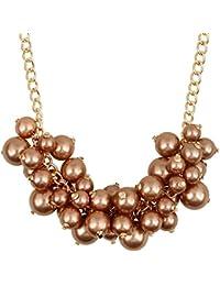 lureme®europeo Elegante ABS Pearl Collar (01003930)