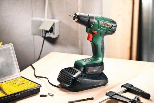 Bosch DIY Akku-Bohrschrauber PSR 14,4 LI Toolbox, 2 Akku, Ladegerät, 241 tlg. Zubehör-Set, Toolbox, Karton (14,4 V, 1,5 Ah, max. Bohr-Ø: Holz: 20 mm, Stahl: 6 mm) - 7