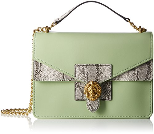 anne-klein-diana-medium-double-flap-chain-shoulder-bag-pistachio-pear