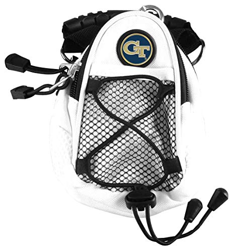 LinksWalker NCAA Georgia Tech Gelb Jacken – Mini Day Pack – Weiß