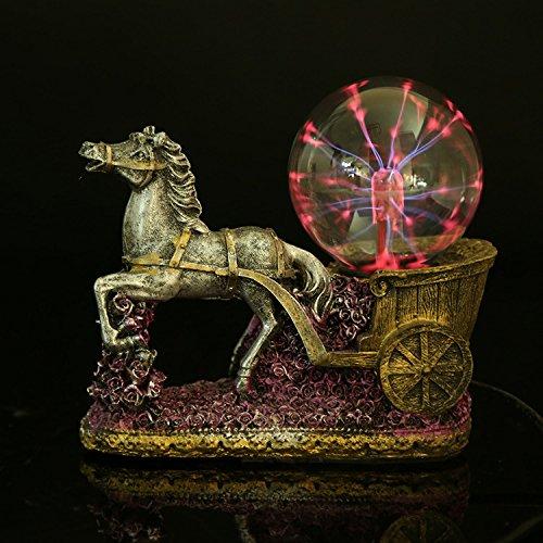 JinRou character design carrello elettrostatica di stile cristallo luce lampo Magic Ball craft eleganti ornamenti decorativi