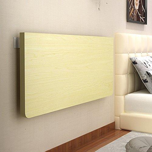 Tavolo pieghevole a muro Tavolo Pieghevole da Pranzo Space Saver Fold Scrivania trasformabile Color Bianco Acero (Dimensioni : 50 * 30cm)