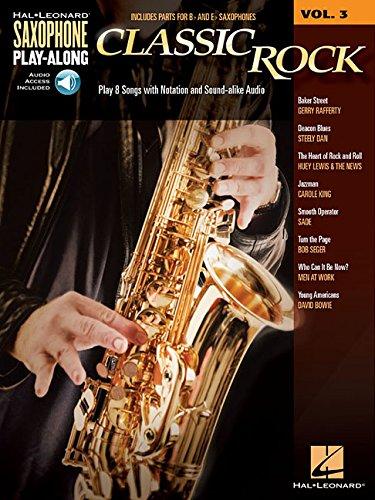 Classic rock saxophone+CD (Saxophone Play-Along)