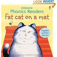 Fat Cat on a Mat (Usborne Phonics Readers)