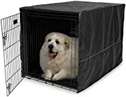 Midwest Black Polyester Crate Cover, Black, 48 Inches