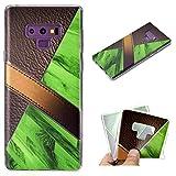 Fusutonus Samsung Galaxy Note 9 Cover Silicone, Morbido TPU Custodia, [ Antiscivolo, AntiGraffio] Copertura Protettiva Scocca Durevole per Samsung Galaxy Note 9 - Verde