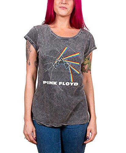 Pink Floyd -  T-shirt - Maniche corte  - Donna grigio Medium