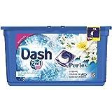 Dash 2en1 - Perles - Lessive Capsules Fleurs de Lotus & Lys - 38 Lavages