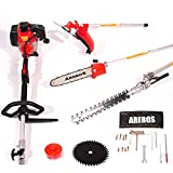 Arebos 4 in1 Multitool Benzin Hochentaster