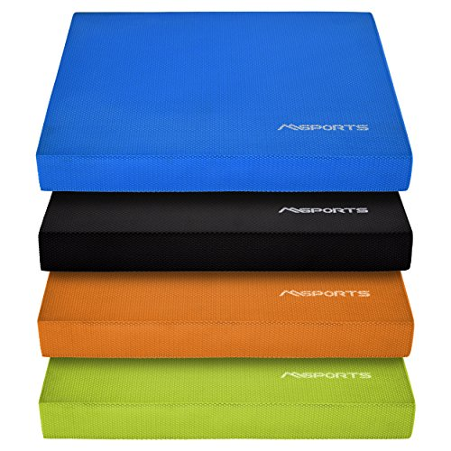 MSPORTS Balance Pad - Premium - inkl. Balance - Übungsposter - Gleichgewichtstraining und Koordinationstraining
