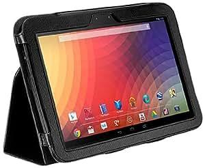 CaseCrown Bold Standby Cas (Noir) pour Google Nexus 10 (réveille et redresse)