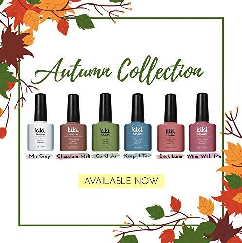 Collection d'automne (lot de 6) nail Gel Couleurs par Kiki Londres. G4GADGET Nail Gel PX