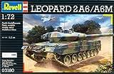 Revell Modellbausatz Panzer 1:72 - Leopard 2 A6/A6M im Maßstab 1:72, Level 4,...