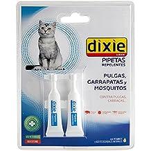 Pipeta DIXIE REPELENTE pipetas anti pulgas,garrapatas Spot On gatos antipulgas