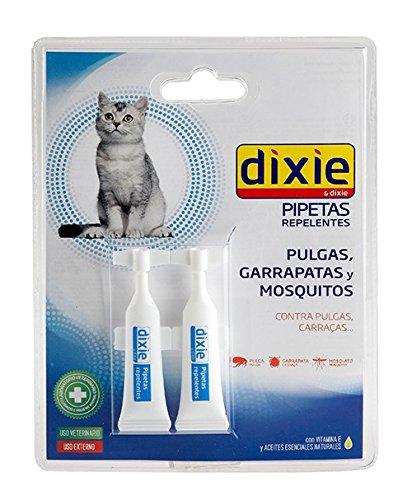 Pipeta DIXIE REPELENTE pipetas anti pulgas,garrapatas Spot On gatos an