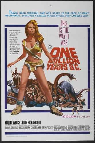 One Million Years Bc Poster 01 A3 Box Canvas Print