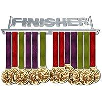 VICTORY HANGERS Soportes Para Medallas FINISHER Gancho Exhibidor de Medallas V1| Medallero | stainless steel Gancho Exhibidor de Medallas | Percha Para Medallas | Para Los Campeones !