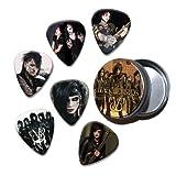 Black Veil Brides Set of 6 Loose Guitar Médiators in Tin ( Collection B )
