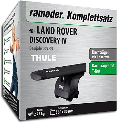 Rameder Komplettsatz, Dachträger WingBar für Land Rover DISCOVERY IV (118593-09015-1)