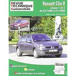 Rta 118.2 Renault Clio 2 Phase 1 et 2 Diesel