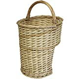 Hartleys Natural Wicker Stair Basket