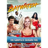 Baywatch - The Complete Fifth Season [DVD] by David Hasselhof