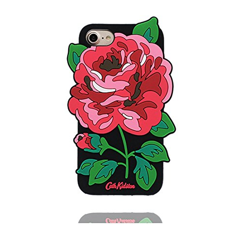 iPhone 7 Copertura,iPhone 7 Custodia,TPU del cavallo pesca 3D Cartoon cover per iPhone 7 4.7inch + Spina di polvere colour 1