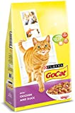 Go-Cat Adult Cat Food Chicken and Duck, 10kg