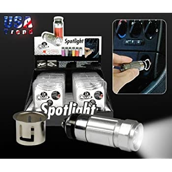 led lenser automotive led taschenlampe f r zigarettenanz nder edelstahl art nr 7575 7675. Black Bedroom Furniture Sets. Home Design Ideas