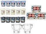 Set da 53 pezzi con profumi estivi, di Yankee Candleoriginale, set con vasetti votivi e porta candele