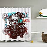 You Know You Can Do It Polyester-Duschvorhang-Schimmelfest 69x 84Dusche Room Decor