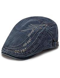 63870fc94885d Cokk Fashion Visors Beret Cap Cotton Hats for Men and Women Sun Hat Planas  Flat Caps
