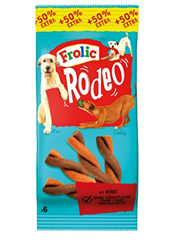frolic rodeo Frolic Rodeo Hundefutter - 1 X 6 Stück = 1 Packung