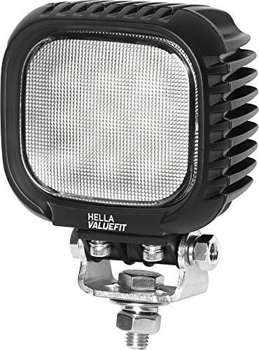 Hella 1GA 357 109-002 Arbeitsscheinwerfer Value Fit LED S3000 LED, 12V/24V, 3.000 Lumen, IP 6K9K / IP 6K7 (hochdruckreinigungsfest / tauchfest)