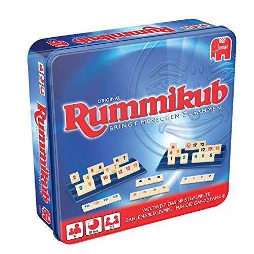 Jumbo 03973 - Original Rummikub in Metalldose