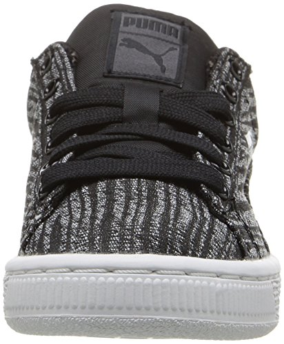 Puma Basket Tiger Sneaker Textile Turnschuhe Asphalt/Puma Black