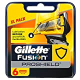 Gillette Fusion Proshield Flexball Regular Men's Razor Blades - Pack of 6