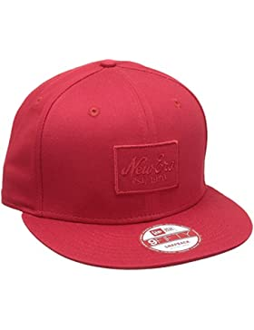 New Era Cap NE impresión en relieve Rojo rojo Talla:small/medium
