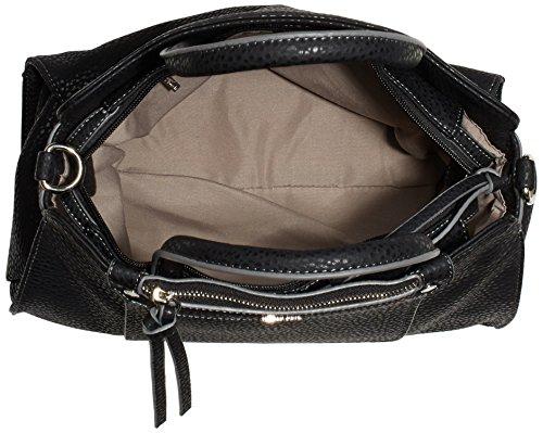 Tamaris PIA Handbag 1971152-451 Damen Henkeltaschen 33x24x16 cm (B x H x T) Schwarz (Black)