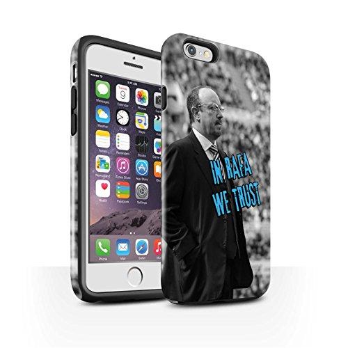 Officiel Newcastle United FC Coque / Brillant Robuste Antichoc Etui pour Apple iPhone 6S / Pack 8pcs Design / NUFC Rafa Benítez Collection Nous Avons Confiance