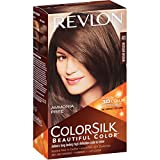 REVLON ColorSilk Beautiful Hair Color MEDIUM BROWN (41) 130 ml with Ayur Lotion Free