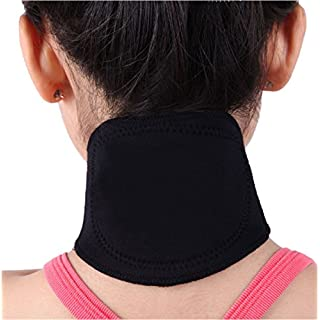 ALW CZs.r.o. Tourmalin Orthopädie Infrarot Wärme Therapie Nacken Bandage schwarz