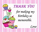 Theme My Party Thank You Card For Theme ...