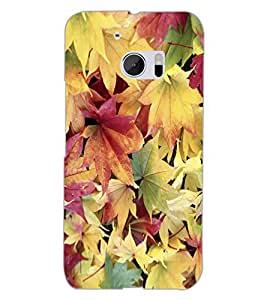 HTC ONE M10 FLOWERS Back Cover by PRINTSWAG