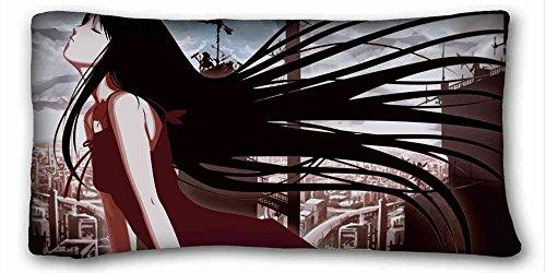 Soft Kissen Case Cover (Tiere Giraffen Paare Caring Punkten Kopf) Custom Reißverschluss Kissen Fall 50,8x 91,4cm (One Seiten) von überraschen Sie passend für queen-bed pc-green-29591, Flanell, Muster 10, European