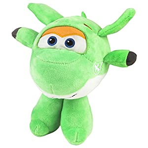 Super Wings - Peluche Mira, 18 x 19.5 cm (ColorBaby 75878)